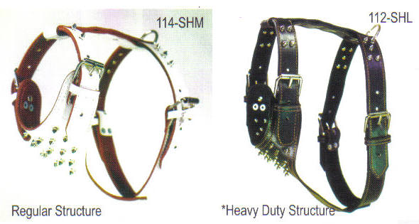 Top Dog Harness Structure
